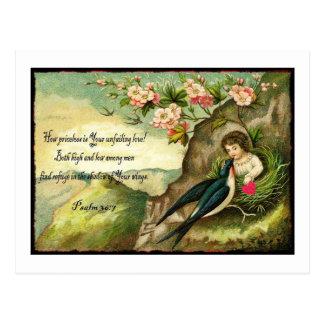 God's Unfailing Love Valentine Postcard