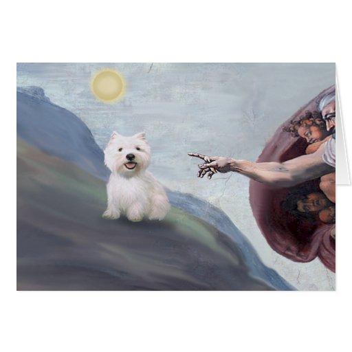 God's Westie (#2) Card