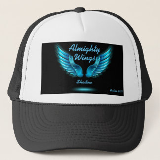 God's Wings Shadow Psalms 36:7 Hat Personalise