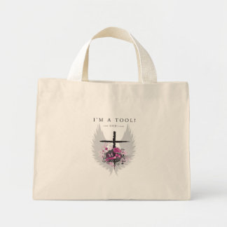 God's Work Mini Tote Bag