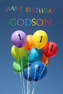 Godson 1st Birthday Balloons