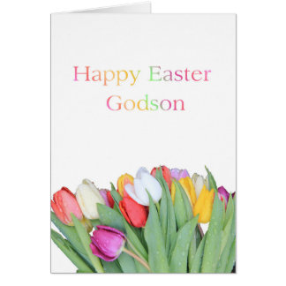 Godson  Happy Easter Card