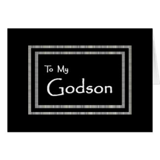 GODSON - Page Boy Wedding Invitation Card