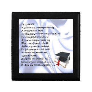 Godson poem - Graduation design Gift Box