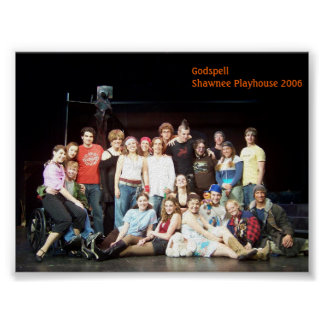 Godspell Shawnee Playshouse 2006 Cast Poster