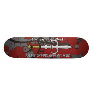 godsword skate 21.3 cm mini skateboard deck