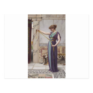 Godward - A Pompeiian Lady Postcard