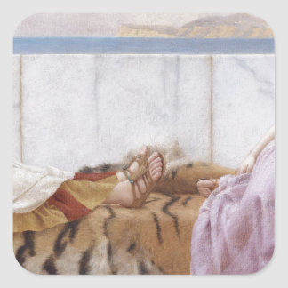 Godward - Eighty and Eighteen Square Sticker