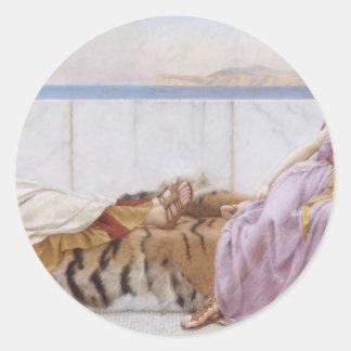 Godward - Eighty and Eighteen Round Sticker