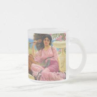 Godward Flabellifera  Frosted Glass Mug