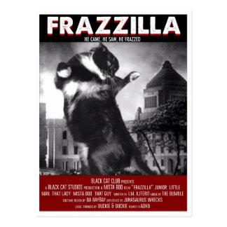 Godzilla Cat Postcard