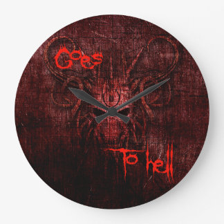 Goes to hell clock