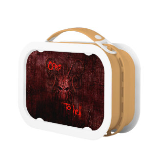 Goes to hell lunch box
