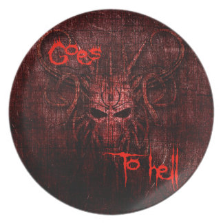 Goes to hell plate