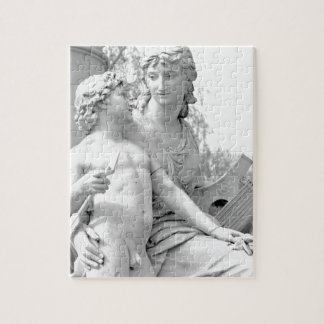 Goethe monument in Berlin, Germany Jigsaw Puzzle