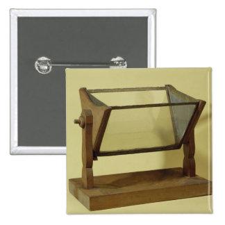 Goethe's Water Prism 15 Cm Square Badge