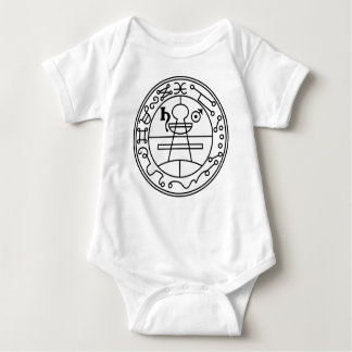 Goetia_seal_of_solomon Baby Bodysuit