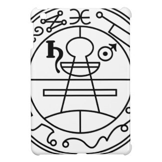 Goetia_seal_of_solomon iPad Mini Case