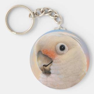Goffin Tanimbar Corella Cockatoo Key Ring