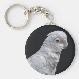 Goffin's Cockatoo Keyring