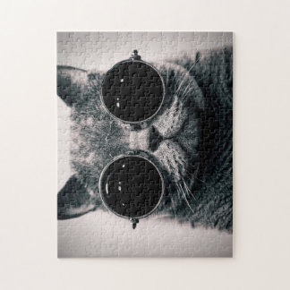 Goggles Kitty Puzzle