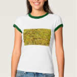 Gogh Yellow Blossoms Whimsical Wedding Personalise Shirts