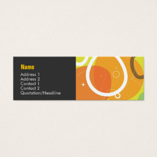 Gogo Abstract Profile Card