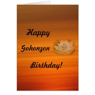 Gohonzon Birthday Card SGI Buddhism