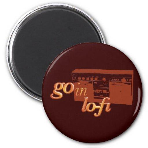 Goin' Lo-Fi Refrigerator Magnets