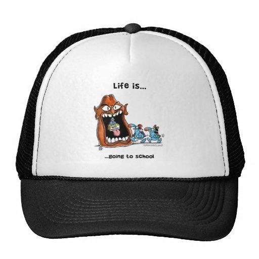 goin_school trucker hat