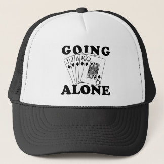 Going Alone Trucker Hat