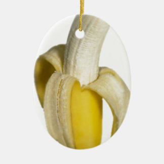 Going bananas ceramic oval decoration
