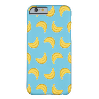 Going Bananas in Blue Barely There iPhone 6 Case