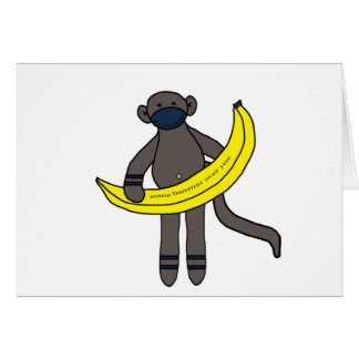 Going bananas over you card