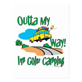 Going Camping Post Cards