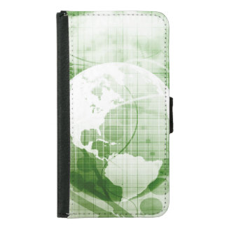 Going Forward with Business Success and Growth Samsung Galaxy S5 Wallet Case
