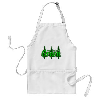 Going Going Gone Green Standard Apron