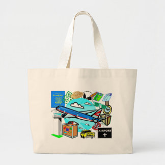 Going, Going, Gone Large Tote Bag