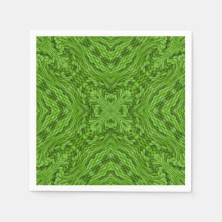Going Green Colorful Cocktail Napkins Paper Napkin