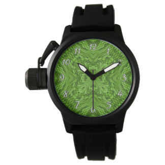 Going Green Colorful  Vintage Mens Watch