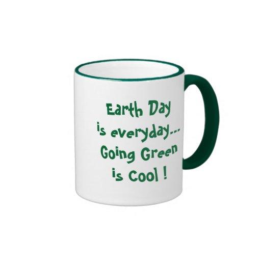 Going Green is Cool ! Mug