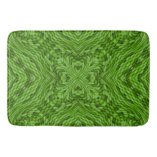 Going Green  Kaleidoscope  Bath Mats