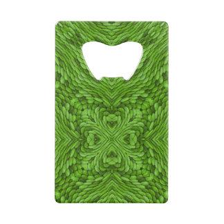 Going Green  Kaleidoscope  Credit Card Openers