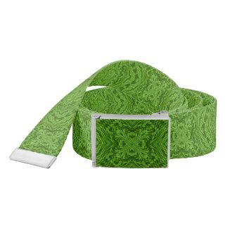 Going Green Kaleidoscope   Custom Belts Belt