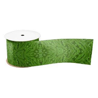 Going Green Kaleidoscope  Custom Ribbons, 1.5 or 3 Satin Ribbon