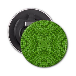 Going Green Kaleidoscope   Magnetic Bottle Openers
