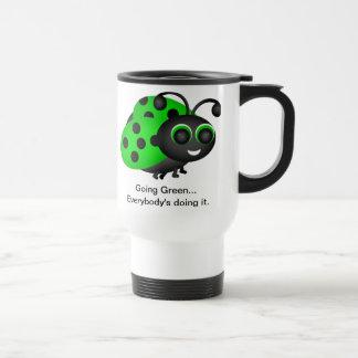 Going Green Ladybug Mug