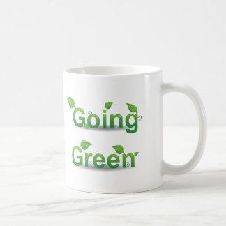 Going Green Leaves Mug