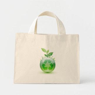 Going Green Mini Tote Bag