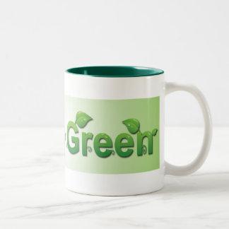Going Green Mug